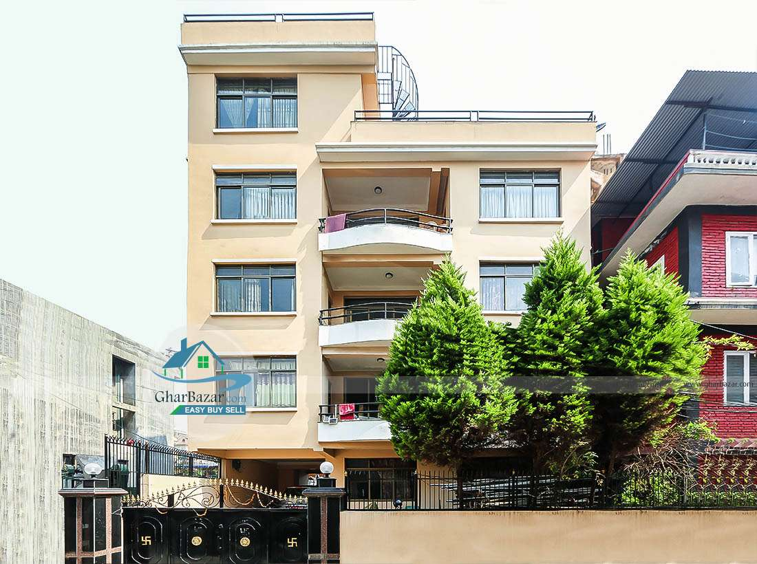 Flat for rent at Samakhusi, Tokha road