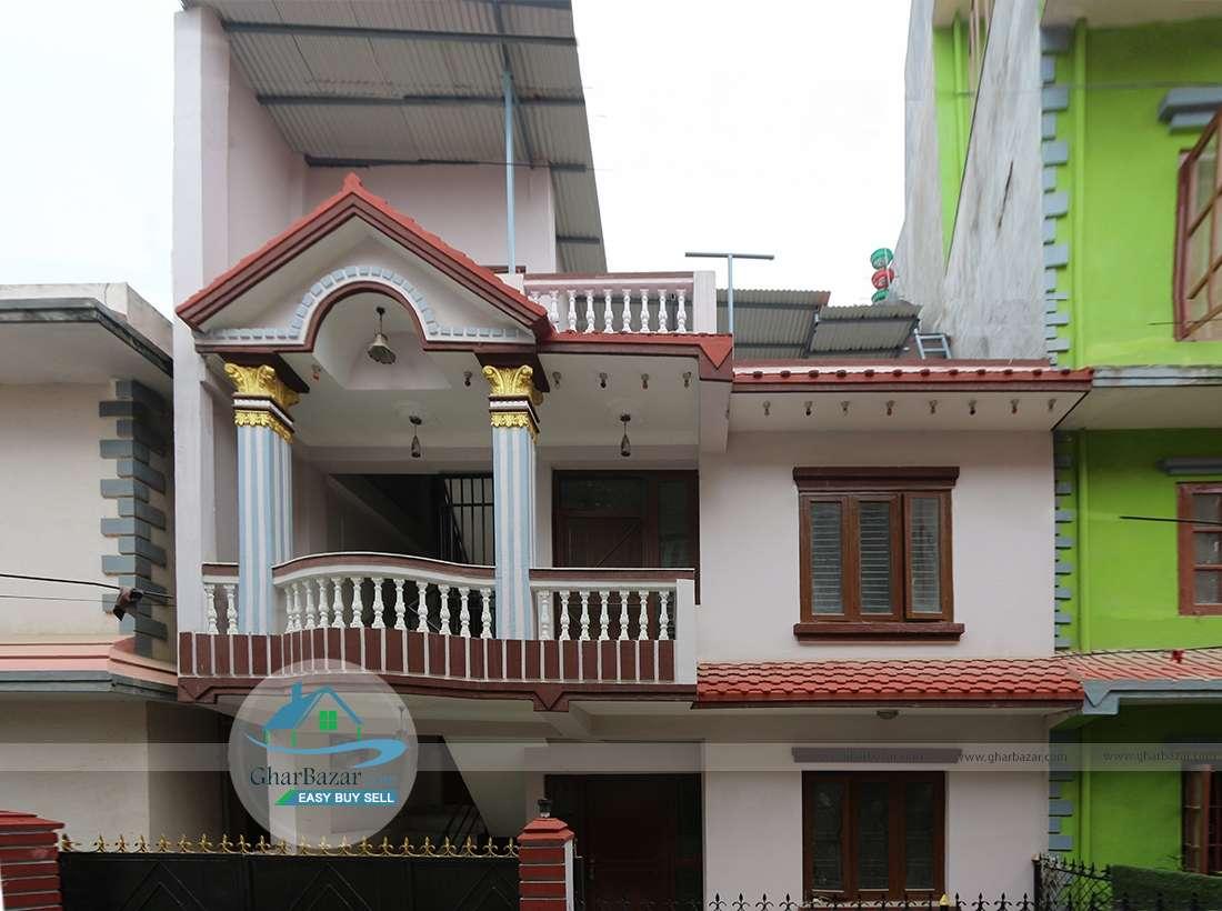 House at Kapan near Baluwakhani petrol  pump
