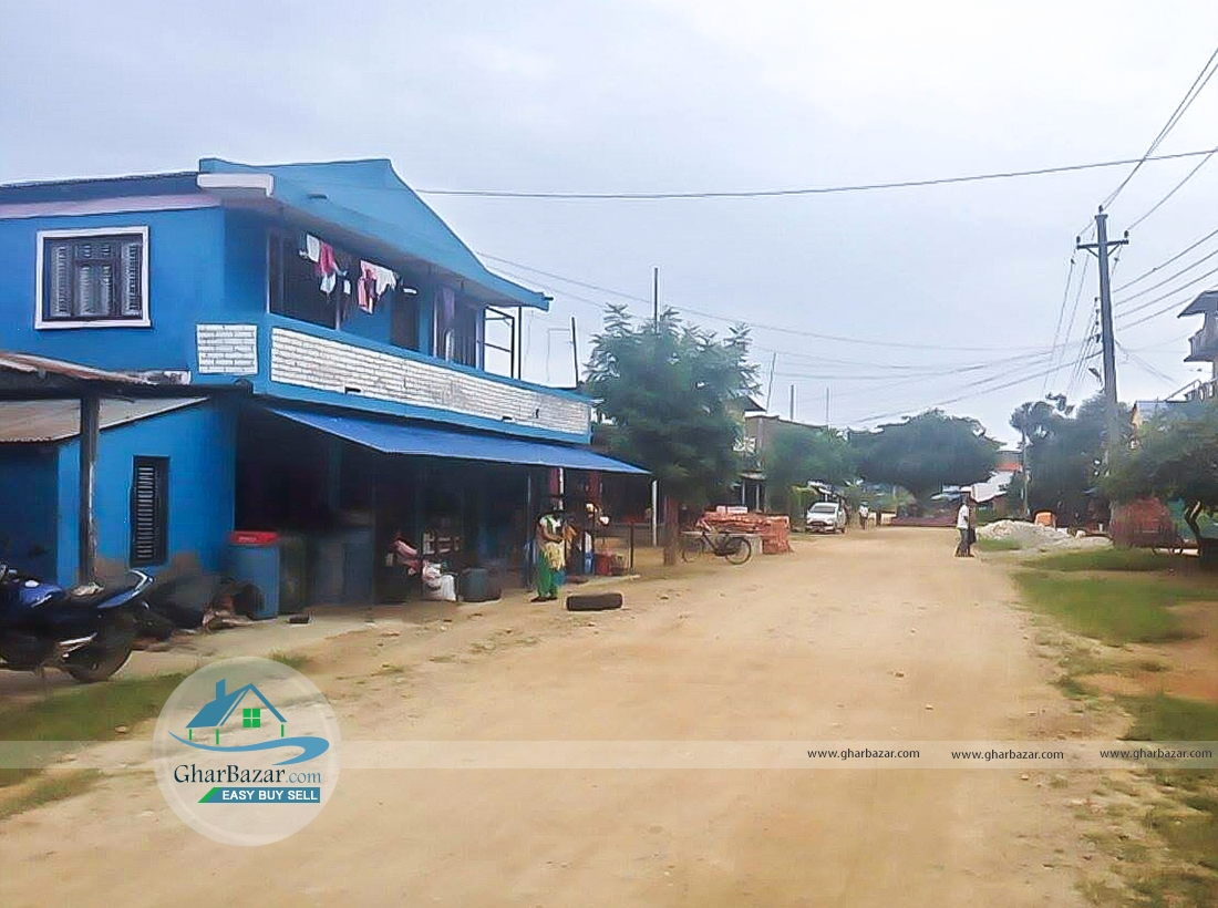 House/Land at Krishna Chowk, Chitwan