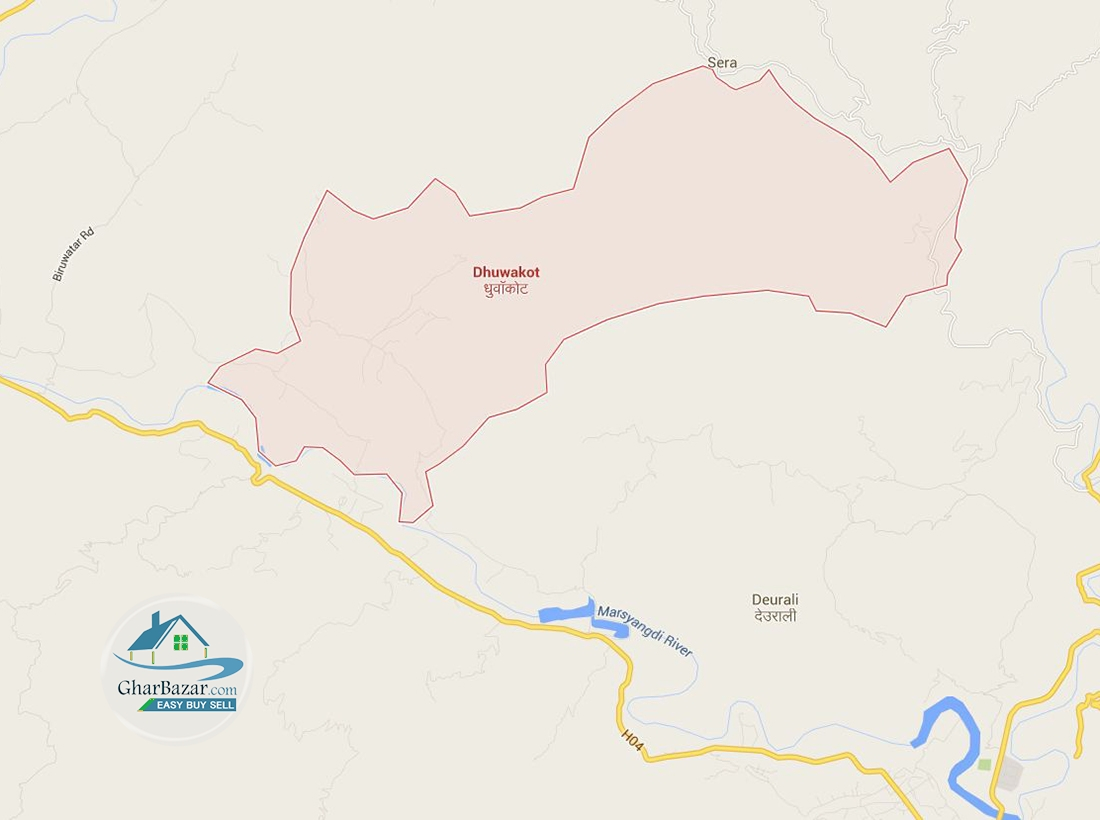 Land at Dhuwakot